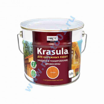 Состав KRASULA (красула)предназначен для защиты и тонирования древесины в наличии по цене завода в Москве по цене завода.